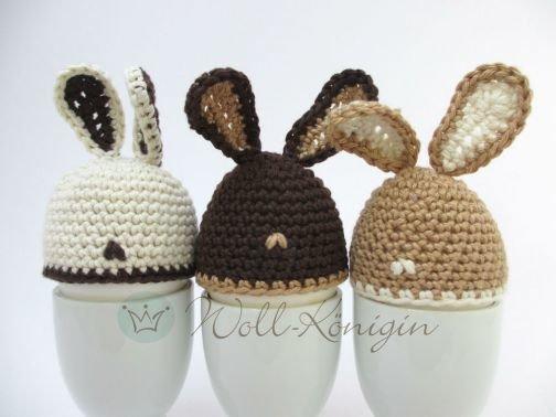 Eierwärmer Hase zu Ostern