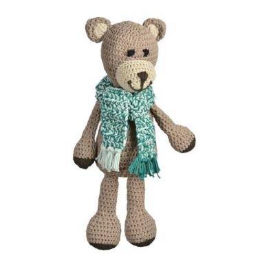 Häkelanleitung für Teddy Felix