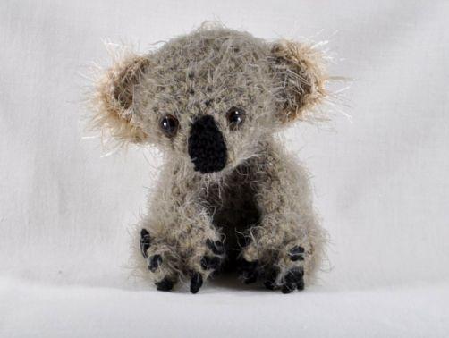 Koalabär Amigurumi Häkelanleitung