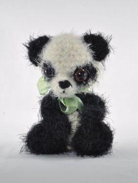 Panda Häkelanleitung Amigurumi
