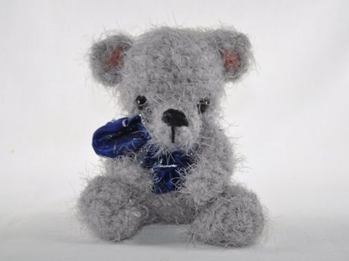 Teddybär Flauschbär Häkelanleitung