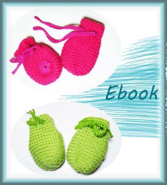 Häkelanleitung Babyhandschhe, Handschuhe häkeln Baby