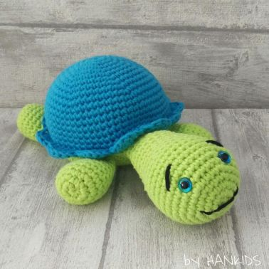 Schildkröte - Häkelanleitung
