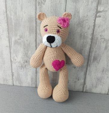 Teddy - Häkelanleitung