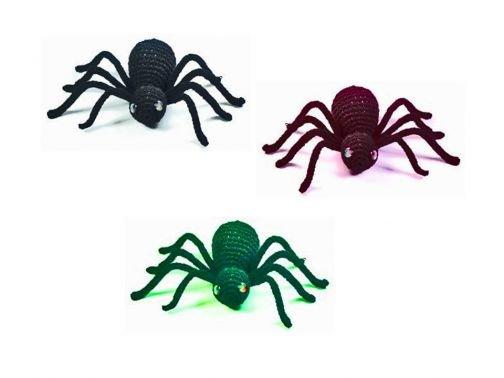 gruselige Spinnen zum Häkeln zu Halloween
