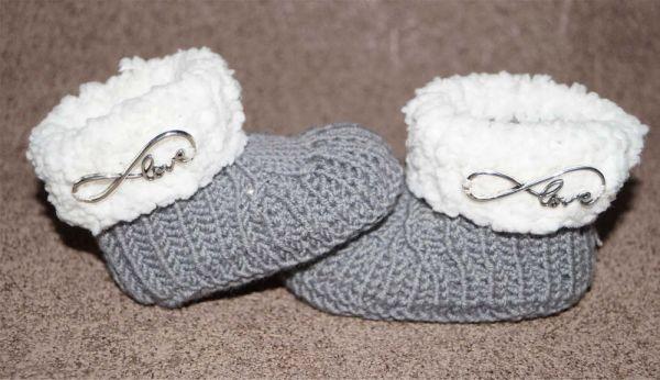 Baby- Schuhe *Kuschlos* Anleitung zum stricken