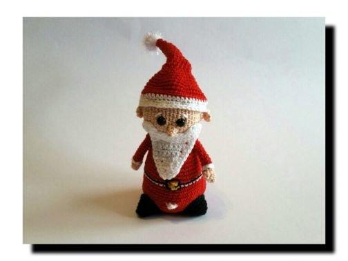 WinterWinzling Santa - Häkelanleitung