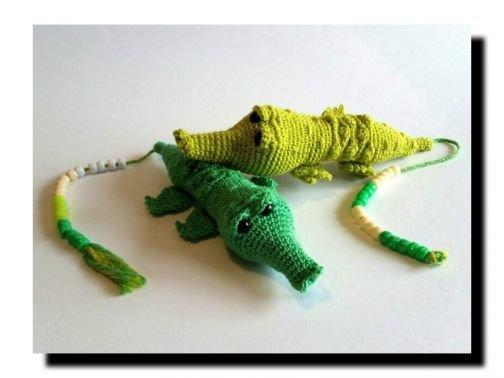 RECHENTIER; Krokodil - Häkelanleitung