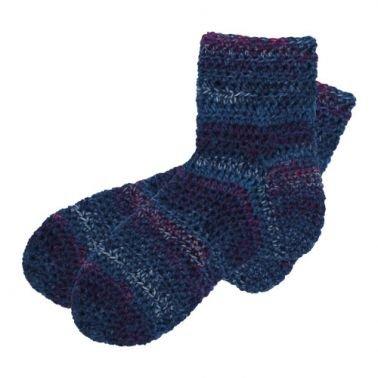 Häkelanleitung für Socken Sanuki