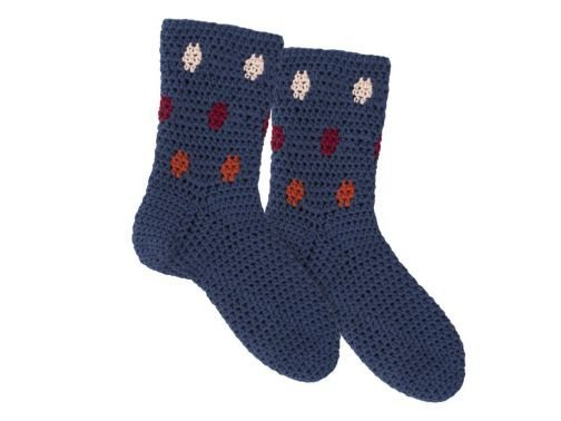 Häkelanleitung für Socken Suzu