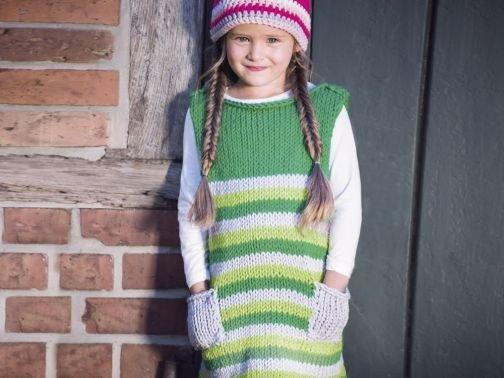 Strickanleitung für Kinderkleid Tacoma