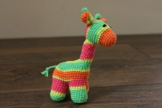 Häkelanleitung BabyGiraffe