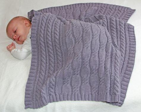 Strickanleitung Babydecke Feenland - 60x70 cm