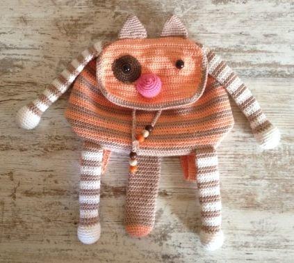 Kinderrucksack Katze