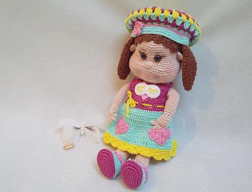 Häkelanleitung Puppe Pina