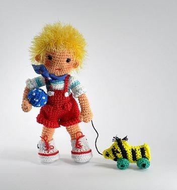 Puppe Dennis
