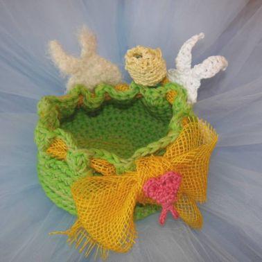 Osterkörbchen - Deko im Frühling