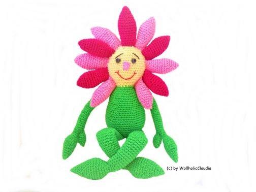 Häkelanleitung Blume Flora E-Book
