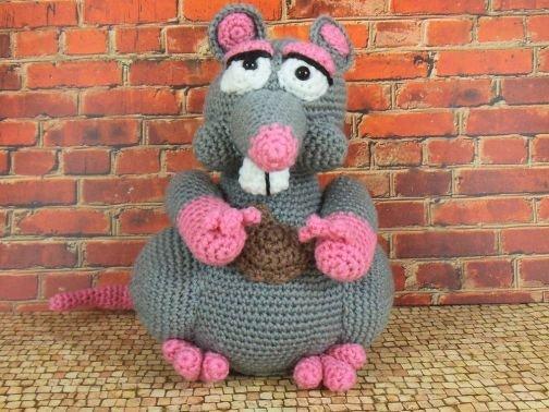 Renate, die verfressene Ratte