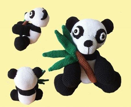 Panda Kuschelbär