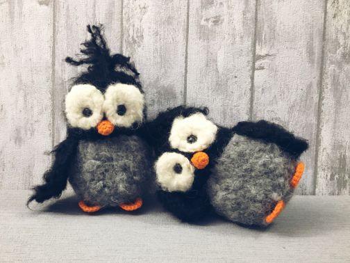 Pinguin - Häkelanleitung