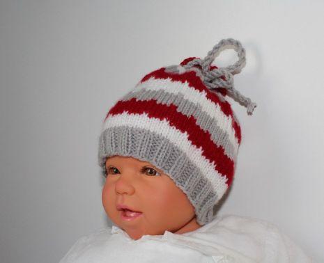 Babymütze in 2 Größen, 0 - 12 Monate, unisex
