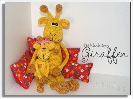 Häkelanleitung Giraffen