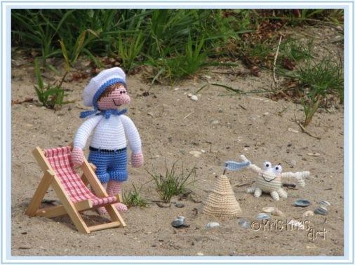 Häkelanleitung Strandvergnügen Amigurumi