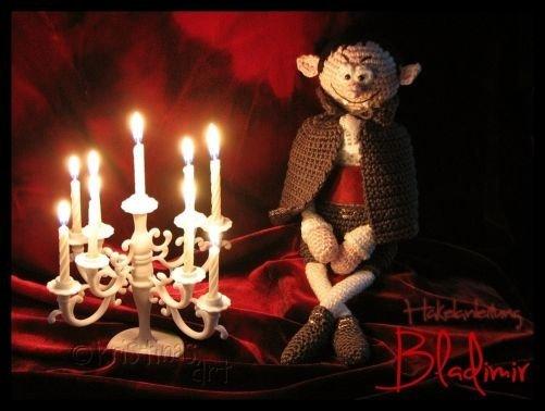 Vampir Bladimir *** Häkelanleitung