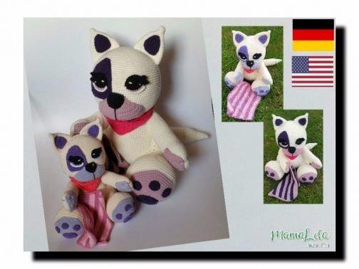 Kuschel Katze Lina / Cuddly Cat Lina - DE_EN