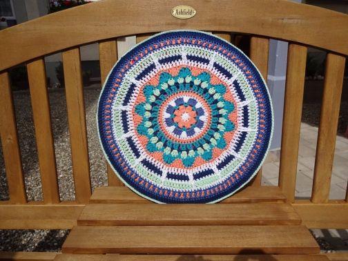 Mandala- Sitzkissen