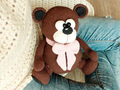 Häkelanleitung für myboshi Teddy