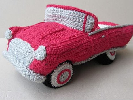 Hochzeits Cabrio Häkelanleitung