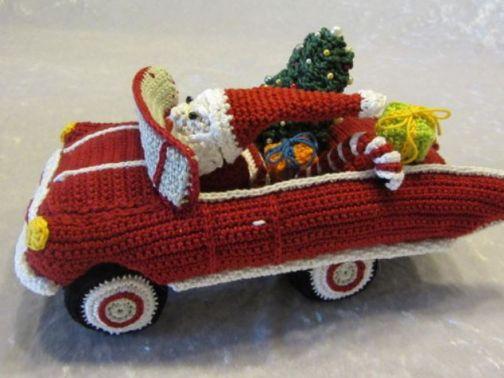 Rasender Weihnachtsmann Häkelanleitung
