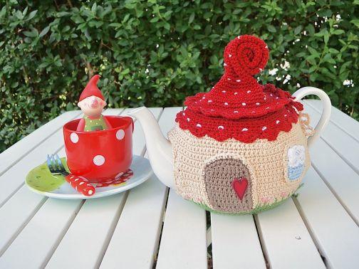 "Häkelanleitung: ""Teekannenwärmer"""