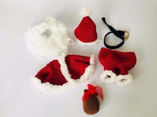 Weihnachts-Outfit, für Seppl das bayrische Wiesel