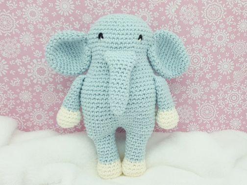 Häkelanleitung Elefant