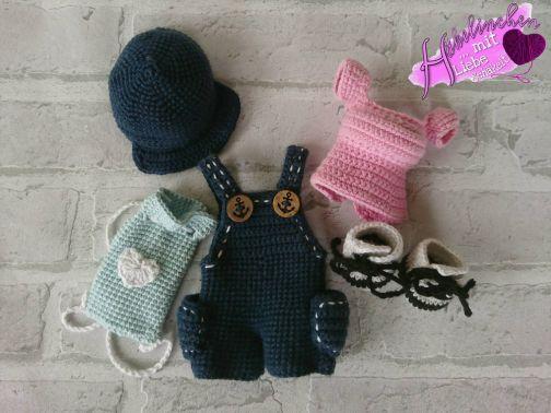 Freizeit-Outfit für Puppe Alessia