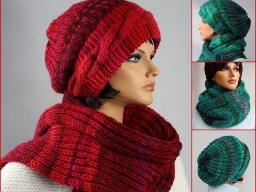 Winterset: Mütze + Loop / Schal