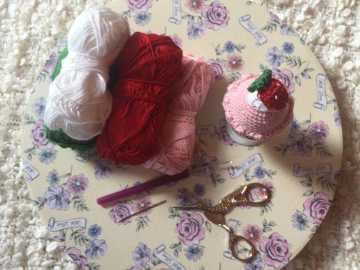 Eierwärmer Cupcake