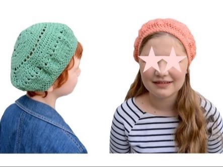 """Bonnet-Mütze"" in 2 Größen Häkelanleitung"
