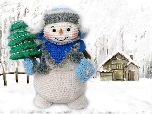 Der Schneemann Rudi