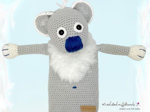 Häkelanleitung Wärmekissenbezug Koalabär Paul