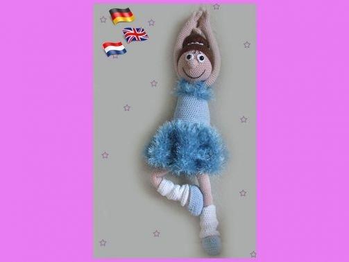 Ballerina Sofie  PDF Häkelanleitung  Puppe
