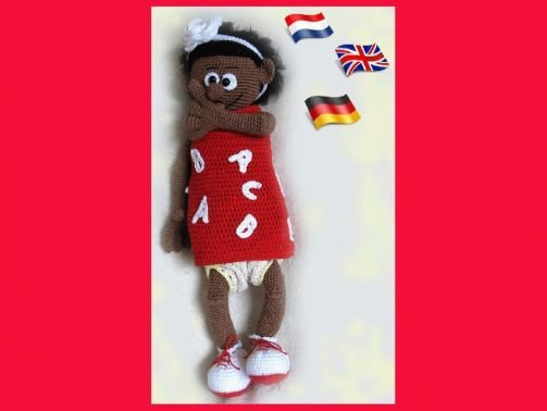 Brooklyn  PDF Häkelanleitung  Puppe