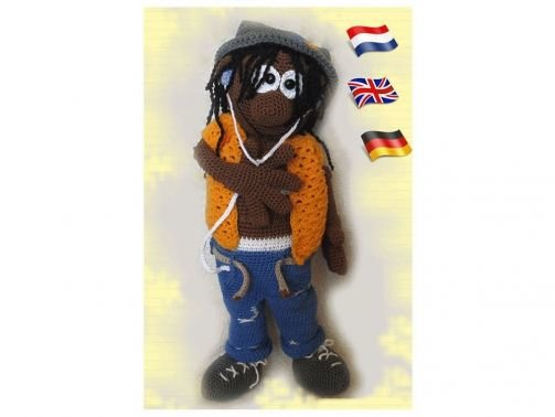 James   PDF Häkelanleitung Puppe
