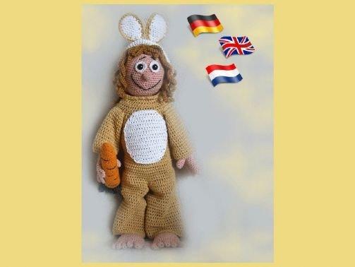 Hase Femmy-Joy PDF Häkelanleitung Puppe