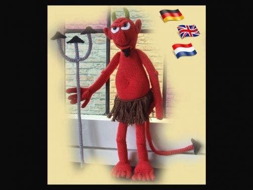 Lucifer   PDF Häkelanleitung Puppe