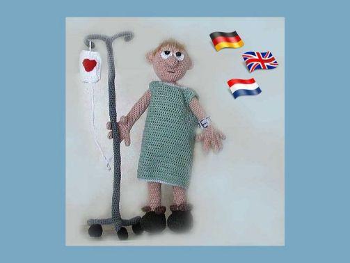 Patiënt Pete PDF Häkelanleitung Puppe