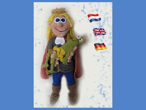 Prinz Ferdinand der Schöne PDF Häkelanleitung Puppe